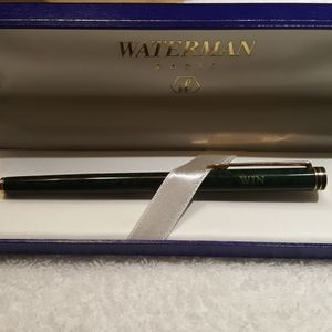 Waterman green pen new in box